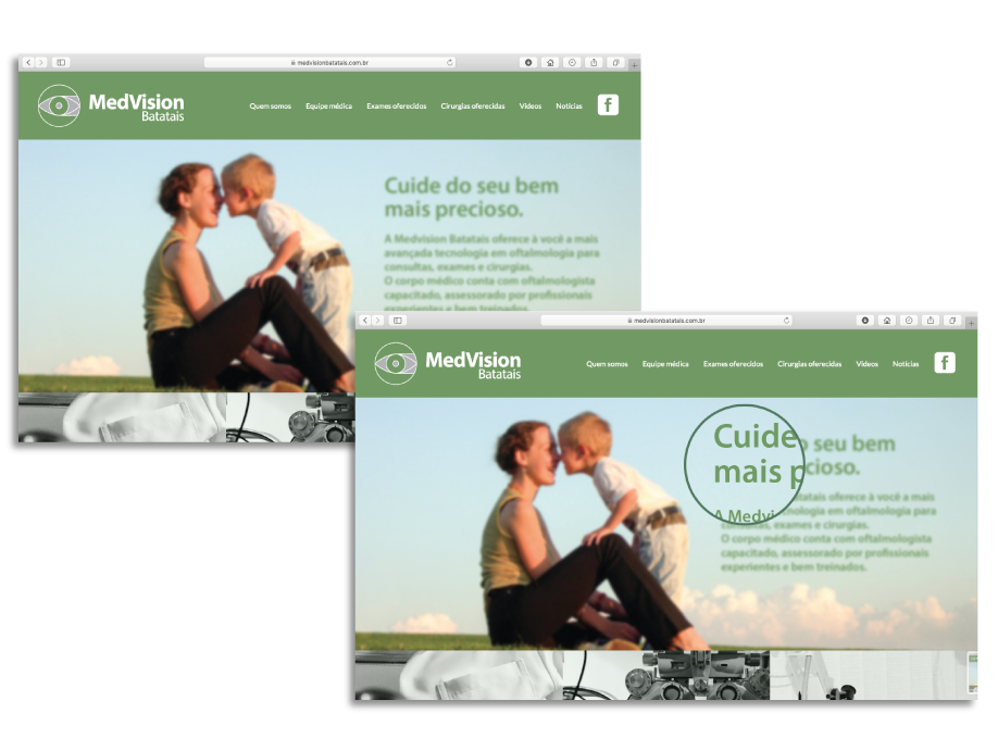 Conteúdo inovador Medvision Batatais